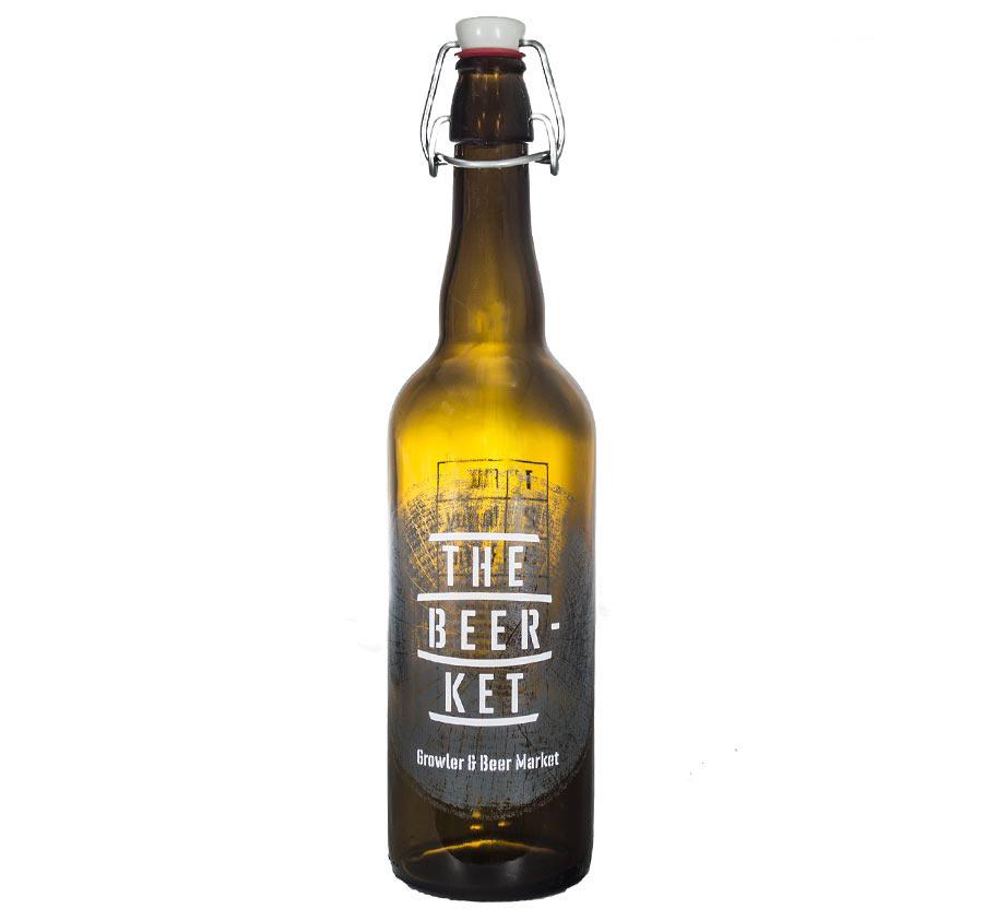 Décoration de bouteille de bière