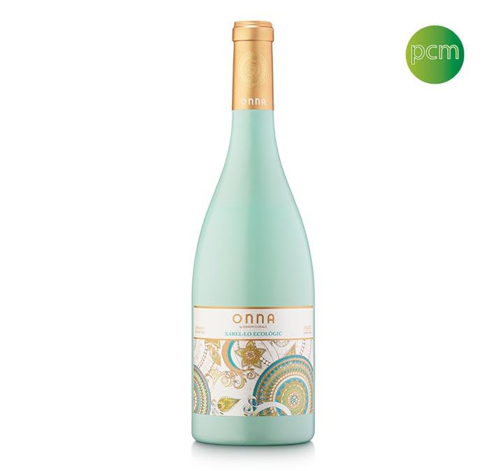 Peinture et sérigraphie de bouteilles de vin ONNA